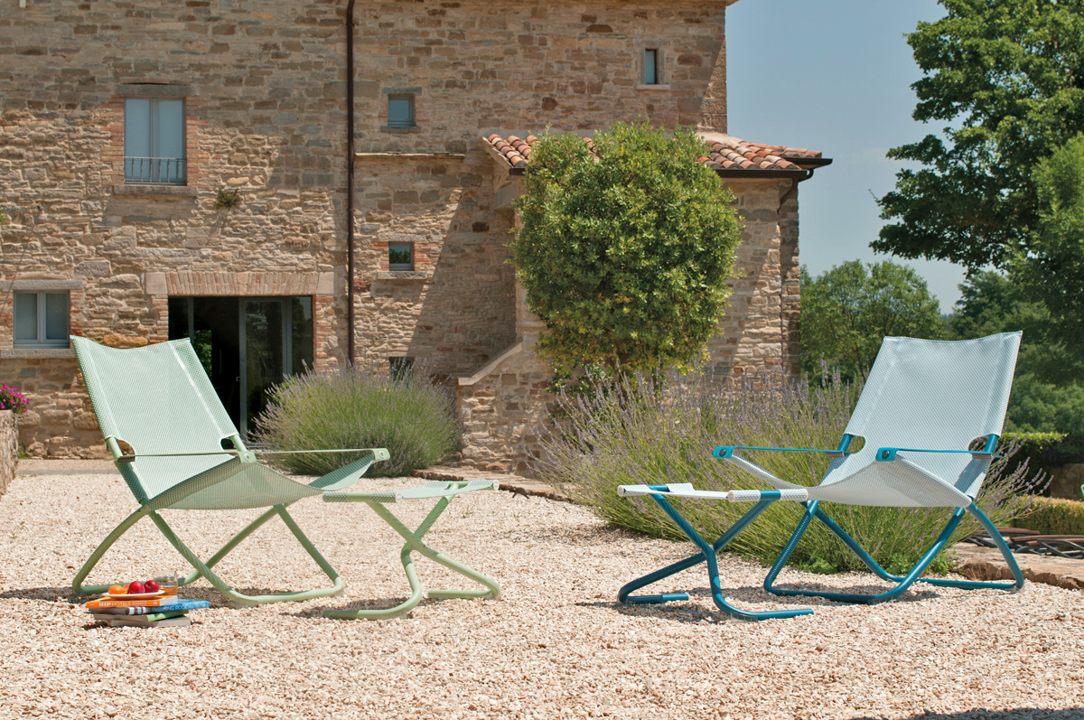 Arredare con le sdraio da giardino livingcorriere for Idee x giardino