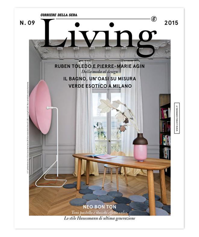 LA COVER DEL NUOVO LIVING N. 09 2015