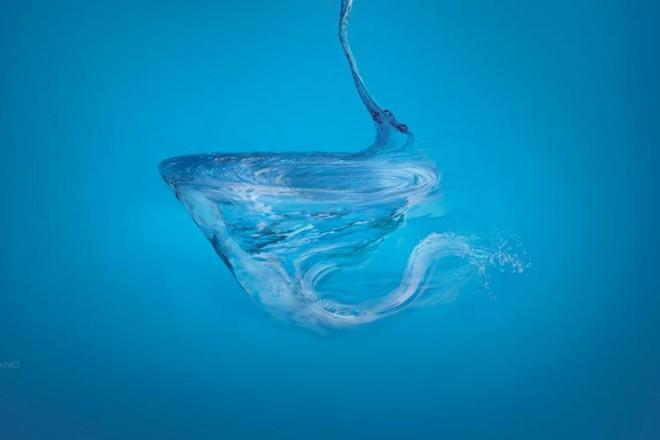 Un sistema di scarico a vortice che sfrutta al meglio la quantità d'acqua disponibile garantendo la massima efficienza