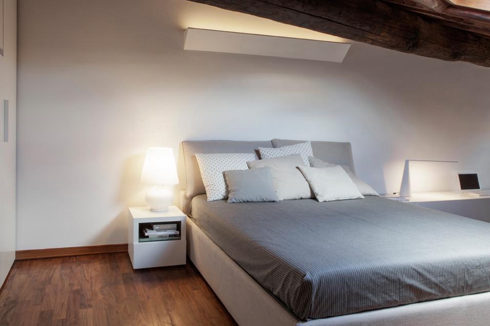 Camere da letto 35 semplici idee per arredarle - Vestire il letto ...