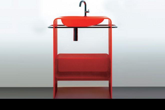 Vasca Da Bagno Rossa : Istituito un piccolo bagno suggerimenti