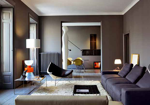 L 39 eleganza fatta casa livingcorriere for Interni case classiche
