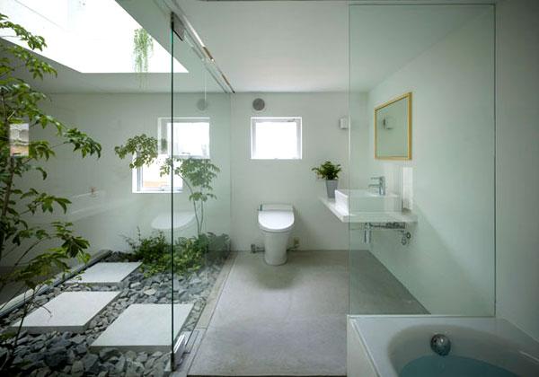 La casa vista dal bagno livingcorriere