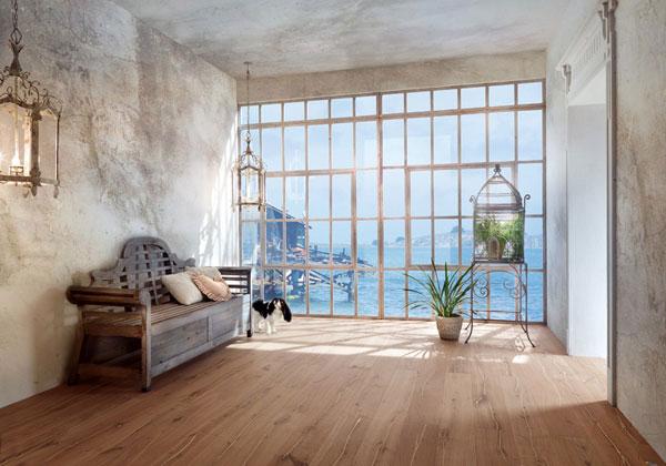 Prove di parquet livingcorriere - Arredare casa con parquet ...