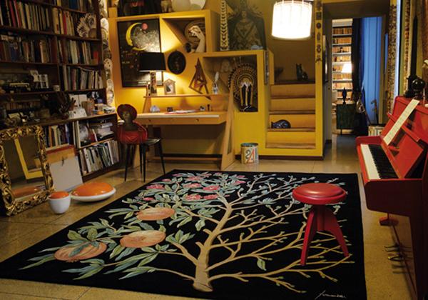 Arte al tappeto livingcorriere for Arredamento messicano