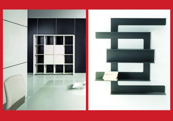 Scaffali Ufficio Design : Arredare lufficio livingcorriere