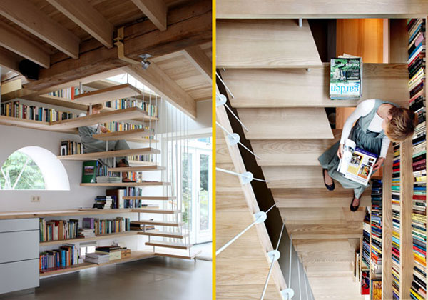 Una casa di libri livingcorriere - Idee originali arredamento ...