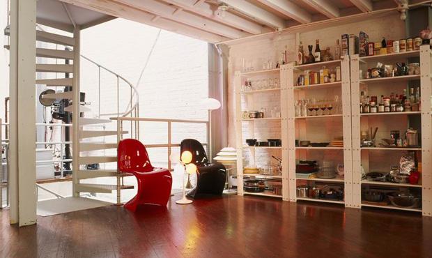 Loft a soho livingcorriere for Piani quadrati a chiocciola