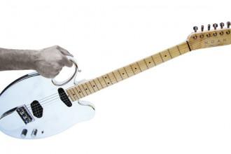 Paraffina Slapster. Chitarra di Lorenzo Palmeri per Noah Guitar