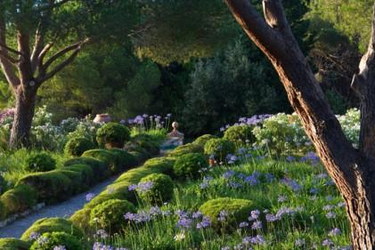 Nel mare di agapanti è il giardino situato nell'isola d'Elba. Credit: Dario Fusaro