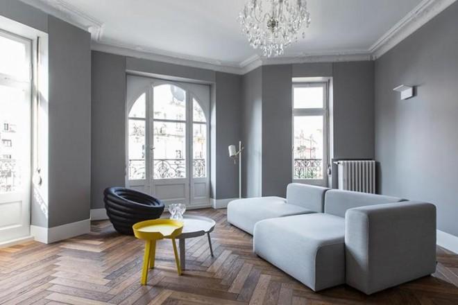 Reinventare un appartamento classico con il colore for Appartamento new design roma lorenz