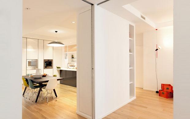 Pareti mobili livingcorriere for Pareti divisorie mobili per interni