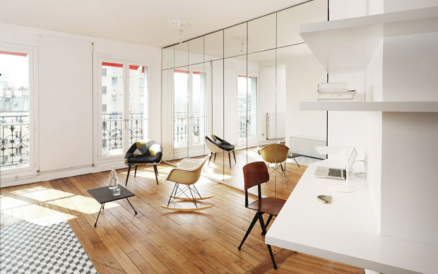 Moltiplicare lo spazio livingcorriere for Appartamento new design roma lorenz