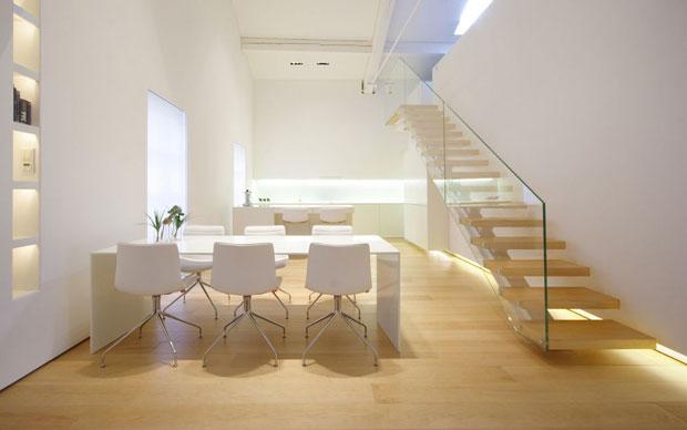 trasformazione in total white - livingcorriere - Soggiorno Total White