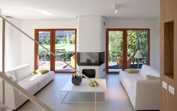 La casa prefabbricata si fa bella livingcorriere for Case prefabbricate moretti
