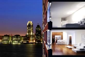 La Riverhouse conta 32 piani che sorgono nel mezzo del Battery Park a sud di Manhattan