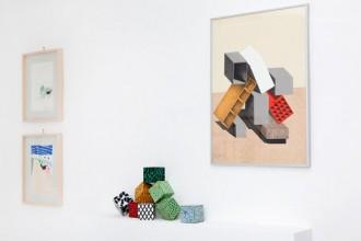 Alcune delle opere di Ettore Sottsass