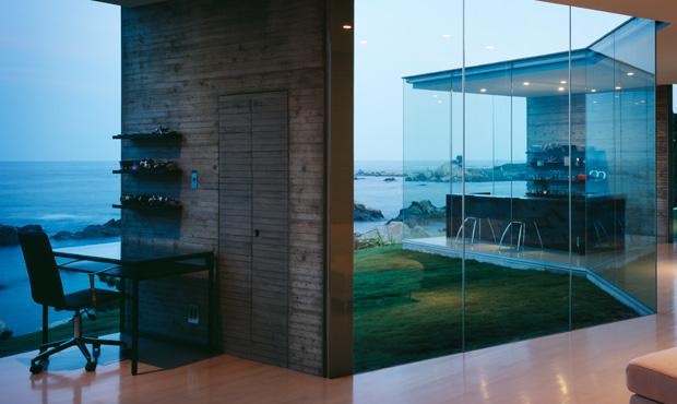 House O di Fujimoto Architetcts. A picco sul mare