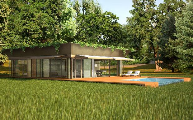 Casa Prefabbricata Design : La casa prefabbricata firmata starck livingcorriere