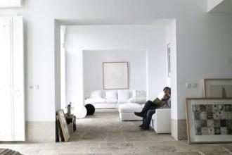 La casa progettata a Lisbona da Manuel Aires Mateus