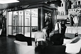 In questa foto scattata da Binelli nel 1952