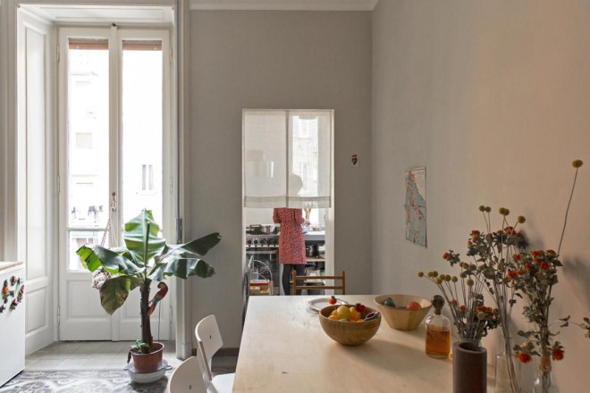 Casa in stile vecchia milano