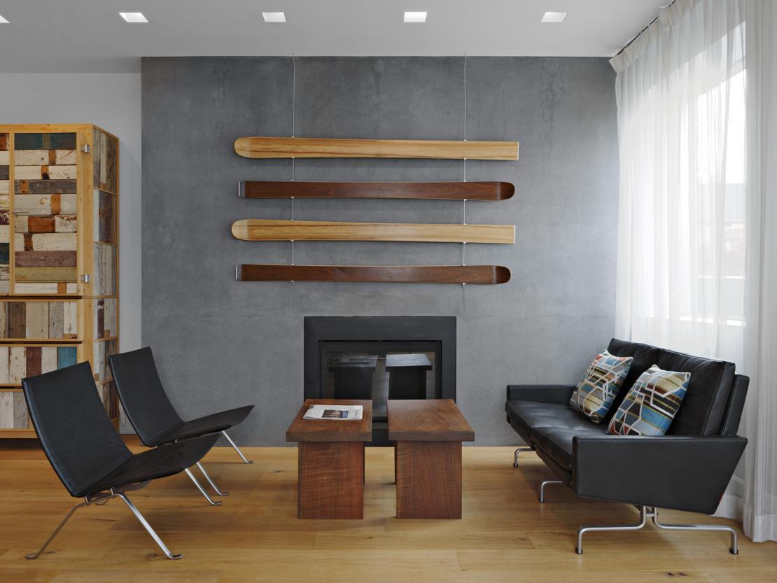 Attico di lusso a new york for Arredamento architettura interni