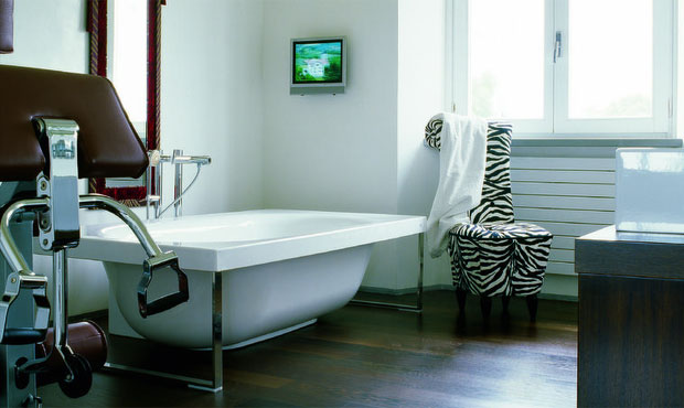 Come trasformare il bagno in area fitness?