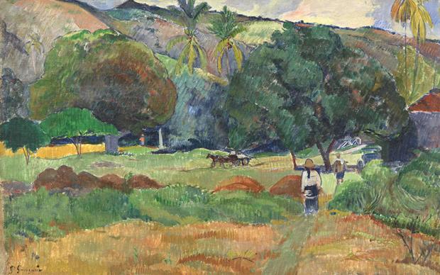 Paul Gauguin (1848-1903): Le Vallon