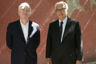 David Chipperfield e Paolo Baratta