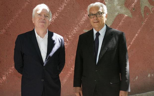 David Chipperfield e Paolo Baratta
