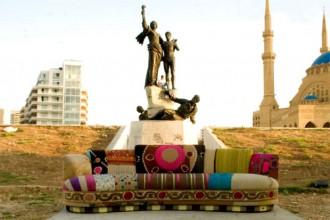 La tradizione artigianale libanese e il design contemporaneo sono alla base del lavoro  di Huda Baroudi & Maria Hibri che recuperano vecchi arredi rinnovando linee e forme
