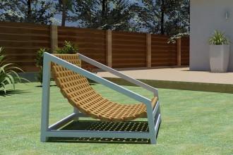 La A-Chair (design di Simone Arangio