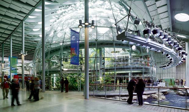 La sede della California Academy of Sciences progettata da Renzo Piano