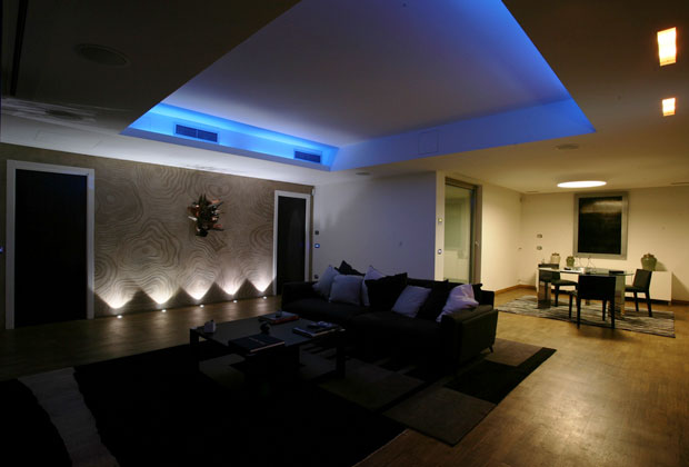 Il loft magico livingcorriere for La casa domotica