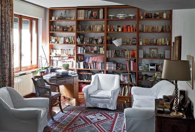 Il tondo e l 39 ellisse livingcorriere for Interni case francesi