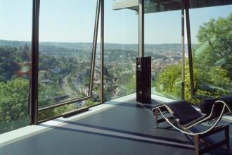 La costruzione della R 128 è terminata nel 1999/2000. Da allora l'architetto Werner Sobek