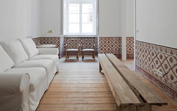 Lu0027interno Di Uno Degli Appartamenti Ristrutturati Dallu0027architetto José  Adrião Arquitecto A Lisbona