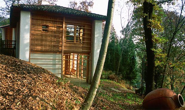 La casa nel bosco livingcorriere for Piani di costruzione del negozio con alloggi