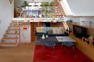 Un'immagine della casa a Tokyo pubblicata sul numero 06 di CASAMICA
