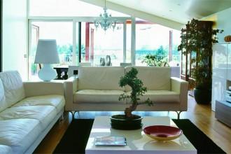 Bianchi i divani in pelle armonia di Poltrona Frau