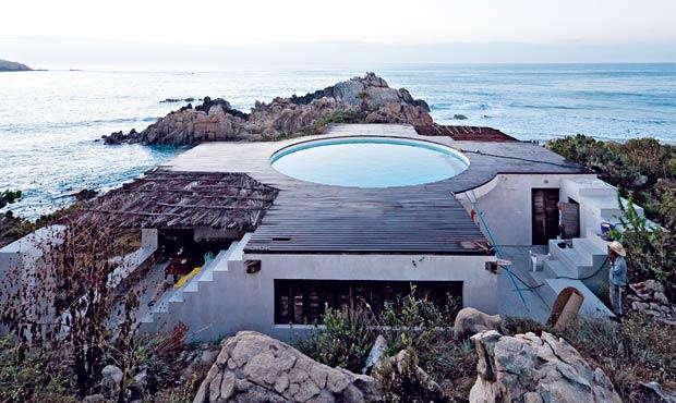La casa è localizzata a Roca Blanca