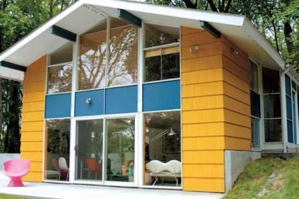 La casa prefabbricata di Karim Rashid