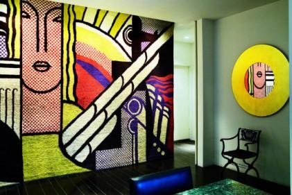 Il grande arazzo di Roy Lichtenstein