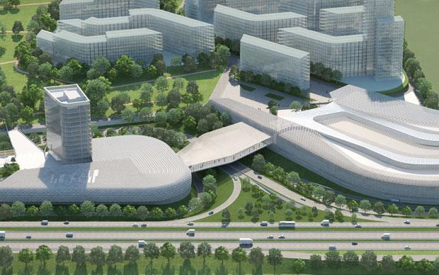 All'interno di Cascina Merlata sorgerà un parco pubblico attraversato da un percorso ciclopedonale che collega il centro di Milano con l'area Expo