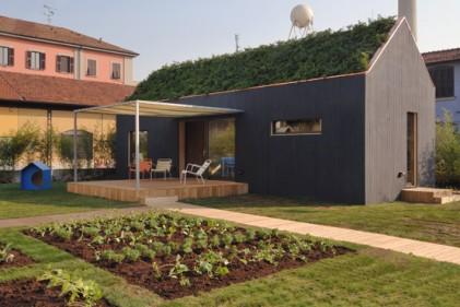 La casa Margherita e la sua veranda esterna