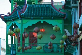 Nella casa della Chinatown di Los Angeles dell'immobiliarista Dan Bernier e sua moglie