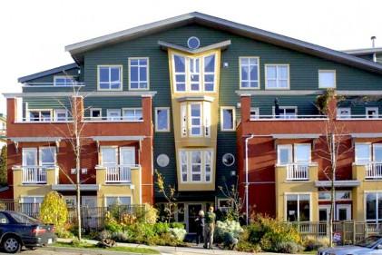 Il Quaysaide village: non lontano da Vancouver