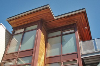 La casa dei container di Vancouver