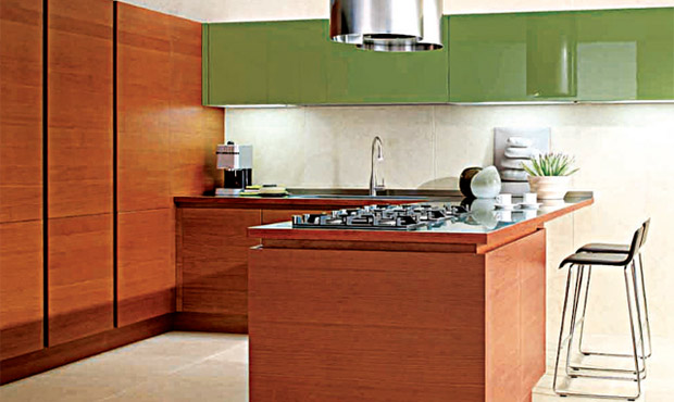 Cucina vivibile su tre lati livingcorriere
